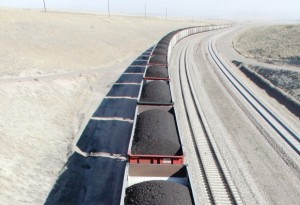 A train transports coal near Gillette, Wyo. Writer David Brett argues that Vancouver is being smug when it bans coal, even though it has none to ban. Photograph by: Nati Harnik , Vancouver Sun